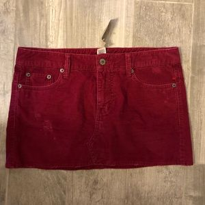 [American Eagle] Pink Corduroy Skirt - Size 4
